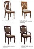 стулья деревянные, цвет каштан 4
